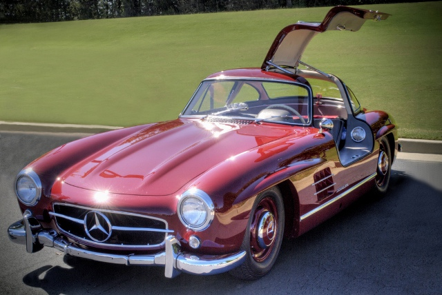 classic mercedes  Old Sports Cars